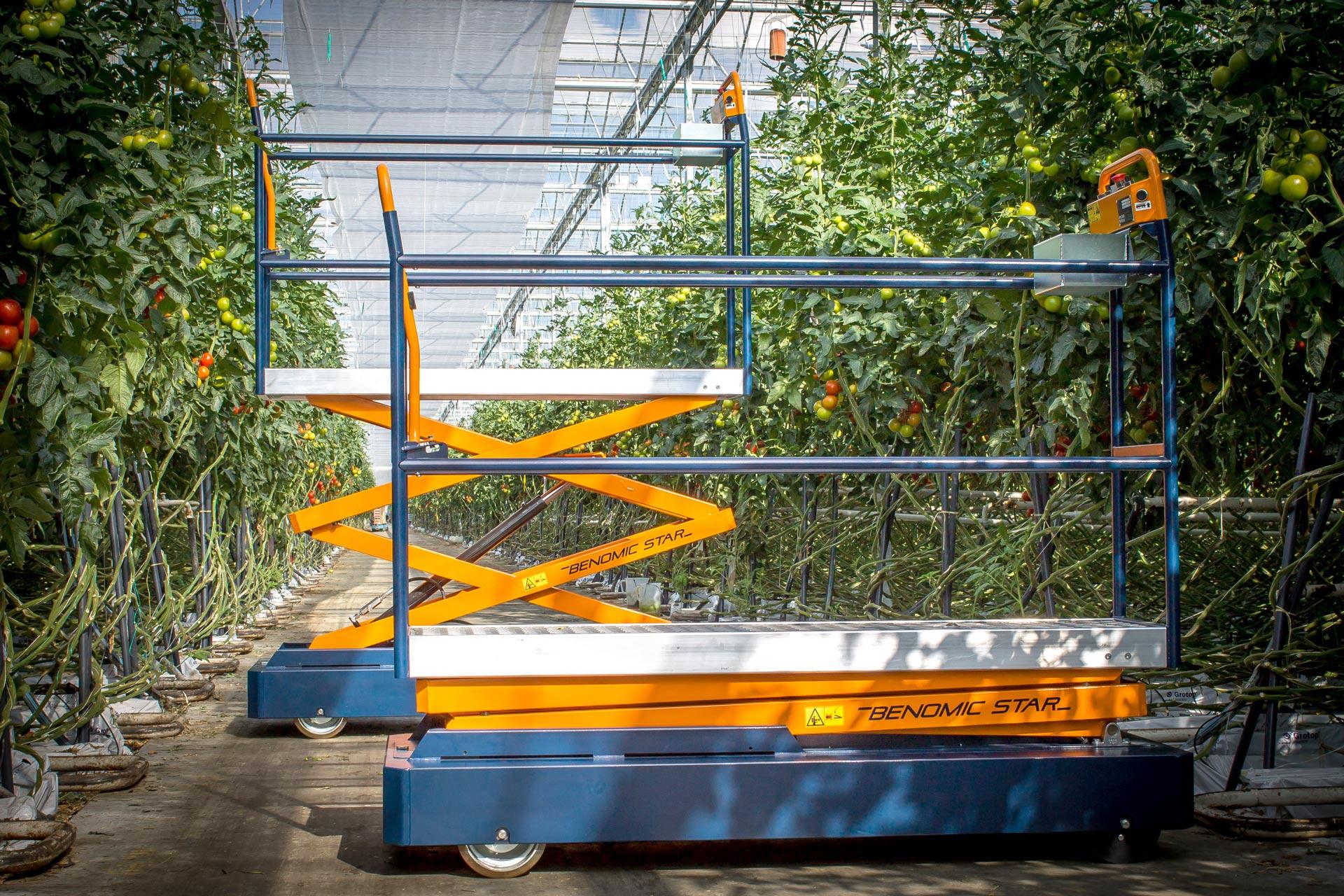 Maschinen für Industrie und Gartenbau | Steenks Service