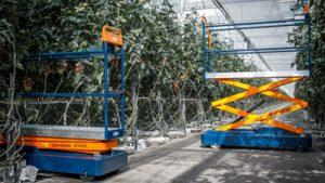 Berg Hortimotive Benomic buisrailwagen