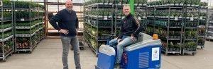 Steenks Service liefert Stefix 95 an Quality Plants Europe